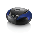 Lenco SCD-37 Digital Black,Blue