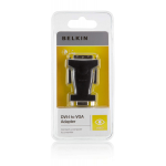 Belkin DVI to VGA Adapter - (F2E4162cp)