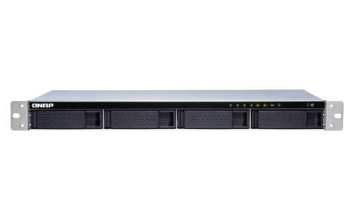 QNAP TS-431XeU Ethernet LAN Rack (1U) Aluminium,Black NAS