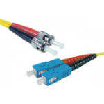 Hypertec 392311-HY fibre optic cable 2 m SC ST OS2 Yellow