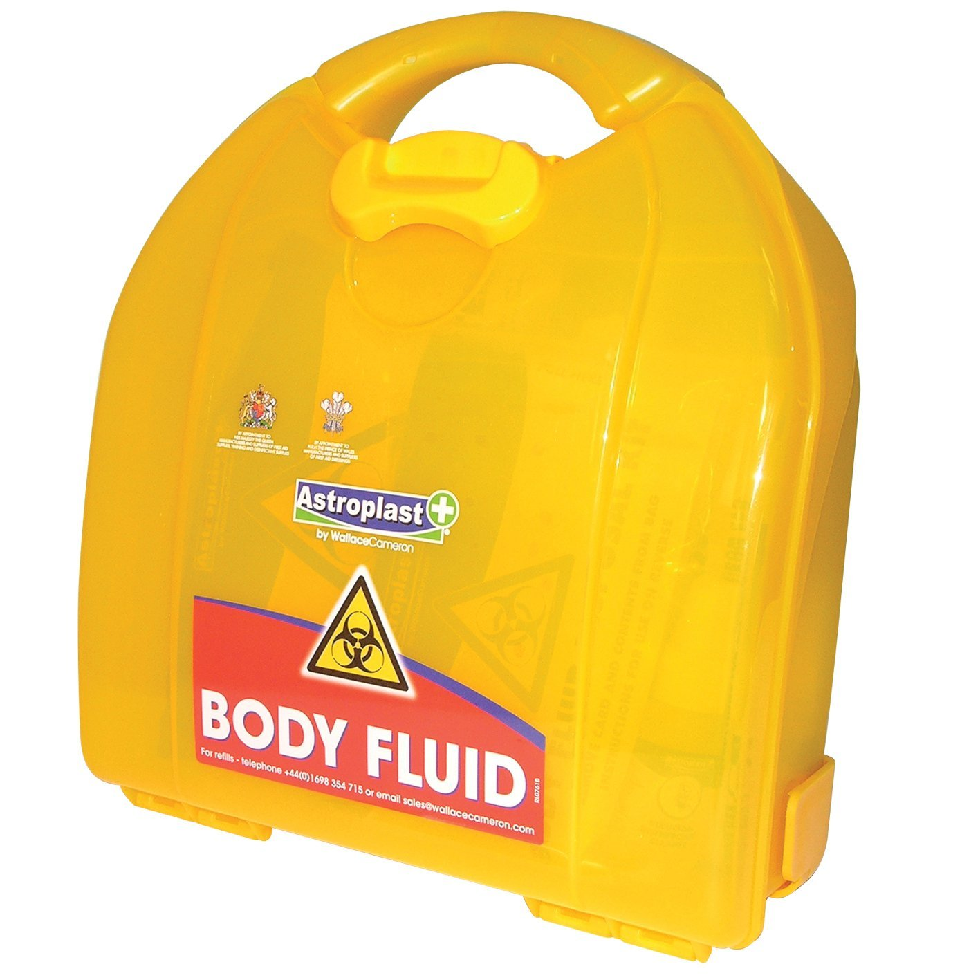 Astroplast Mezzo Body Fluid & Sharps 3 Applications Yellow