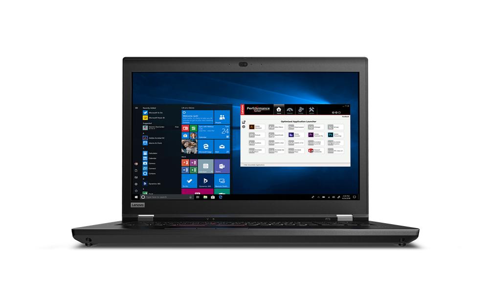 Lenovo ThinkPad P73 Black Mobile workstation 43.9 cm (17.3