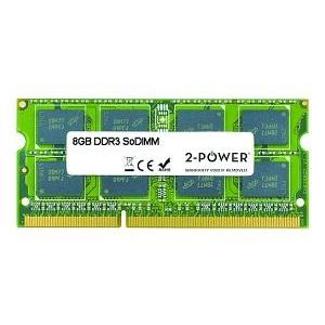 2-Power 8GB DDR3 SODIMM MEM0803A
