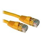 C2G Cat5E Snagless Patch Cable Yellow 1.5m