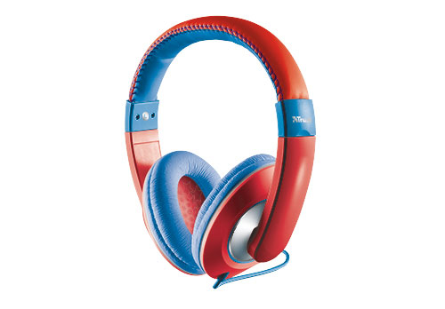 Trust Sonin Kids Headphones Head-band Blue,Red
