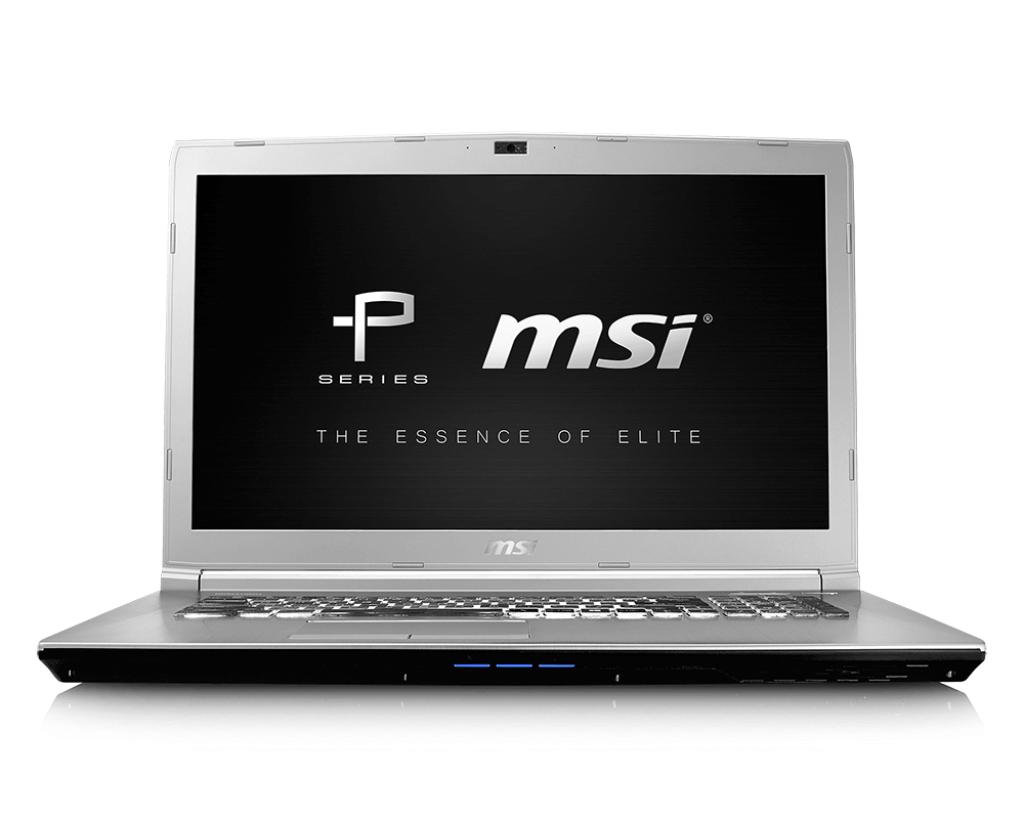 "MSI Prestige PE70 7RD-221UK 2.8GHz i7-7700HQ 17.3"" 1920 x 1080pixels Black Notebook"