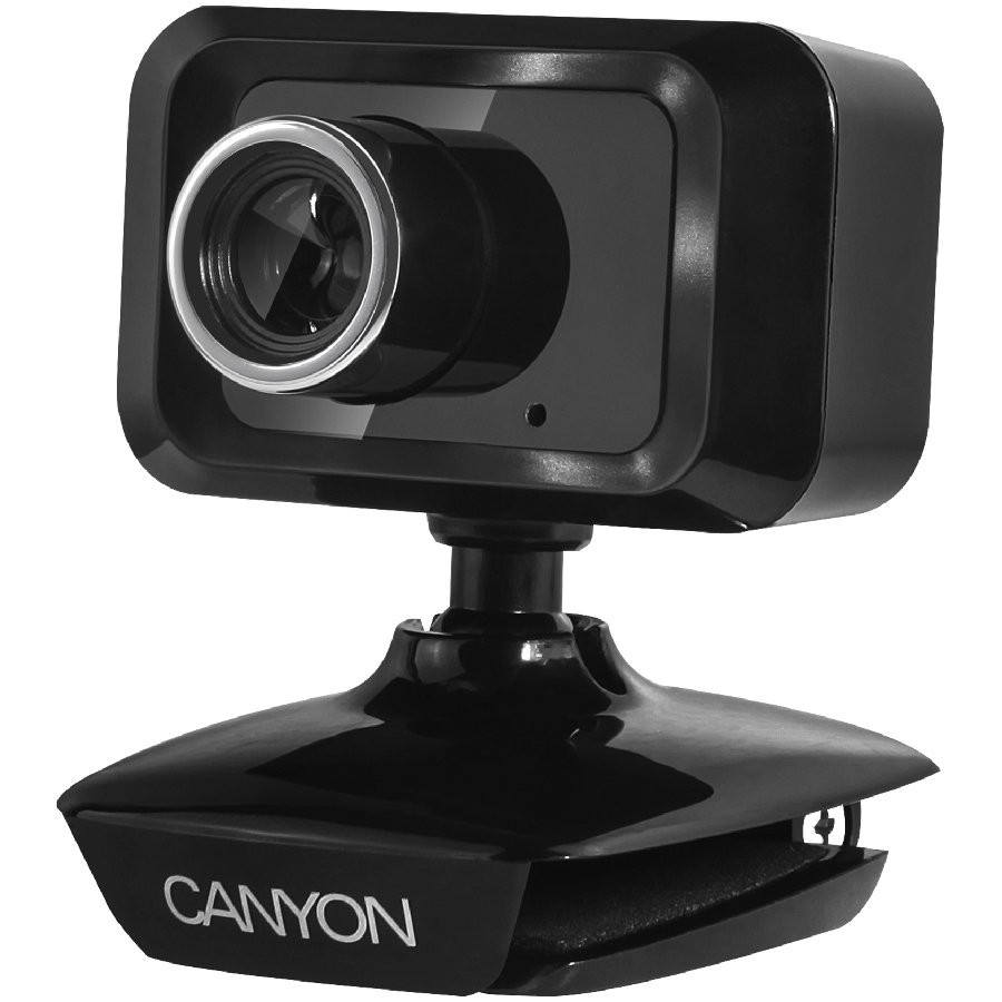 Canyon CNE-CWC1 1.3MP 1600 x 1200pixels USB 2.0 Black webcam