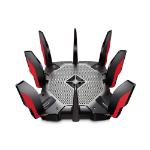 TP-LINK ARCHER AX11000 wireless router Tri-band (2.4 GHz / 5 GHz / 5 GHz) Gigabit Ethernet Black