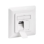 MicroConnect CAT6a Wall Plate Flush Mount,