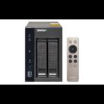 QNAP TS-253A NAS Tower Ethernet LAN Black,Grey