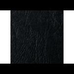 GBC LeatherGrain Binding Covers 250gsm A4 Black (50)