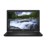 "DELL Latitude 5590 Black Notebook 39.6 cm (15.6"") 1366 x 768 pixels 8th gen Intel® Core™ i5 i5-8250U 4 GB DDR4-SDRAM 500 GB HDD"