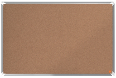 Nobo Premium Plus insert notice board Indoor Brown Aluminium