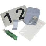 Allsop 29423 Screens/Plastics Equipment cleansing wet & dry cloths equipment cleansing kit