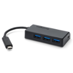 Kensington CH1000 USB-C USB 3.0 (3.1 Gen 1) Type-C 5000Mbit/s Black interface hub
