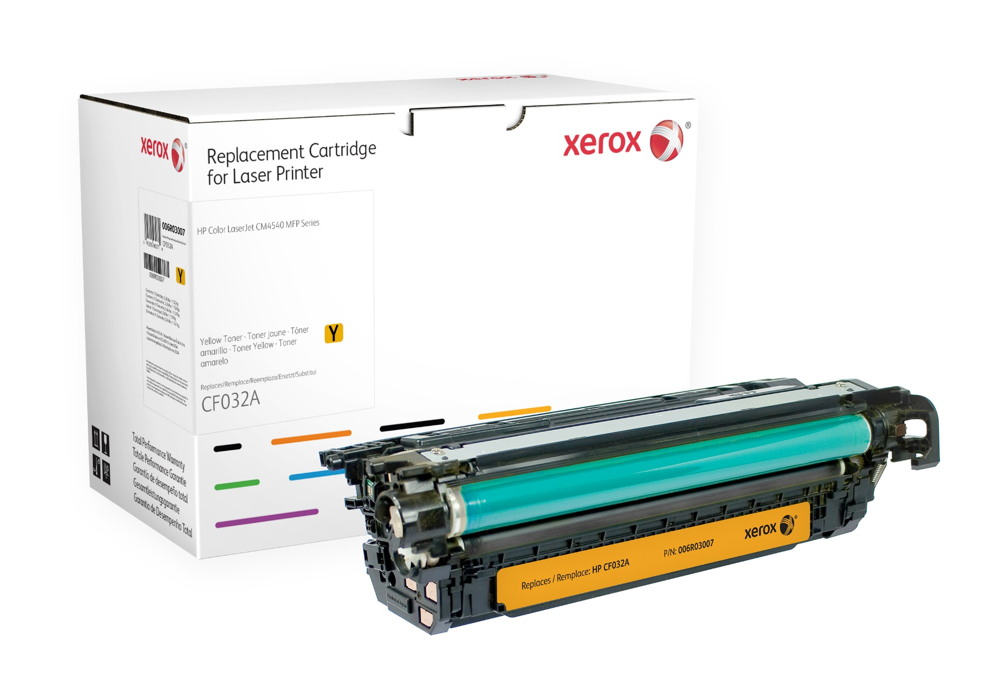 Xerox 006R03007 compatible Toner yellow, 12.5K pages (replaces HP 646A)