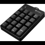 Sandberg USB Wired numeric keypad