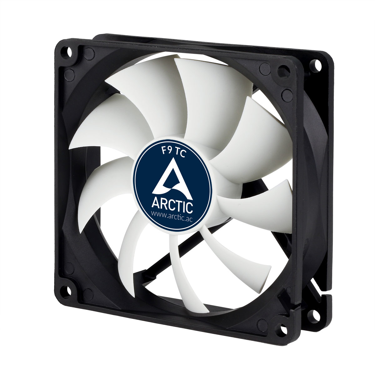 ARCTIC F9 TC - Pin Temperature-controlled fan with standard case