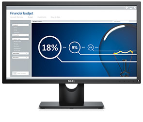 "DELL E Series E2316H TN 23"" Black Full HD Matt"