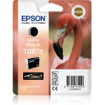 Epson C13T08784010 (T0878) Ink cartridge black matt, 520 pages, 11ml