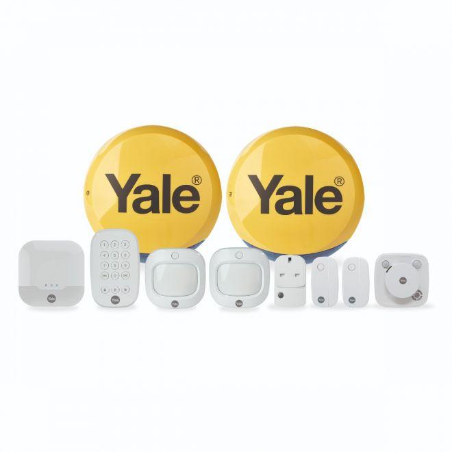Yale IA-340 security alarm system White