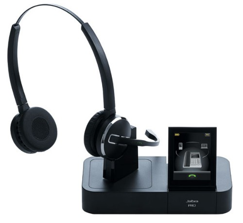 Jabra Pro 9460 Duo Binaural Head-band Black headset