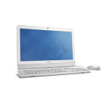 "DELL Inspiron One 3064 2.4GHz i3-7100U 19.5"" 1600 x 900Pixeles Color blanco All-in-One PC"