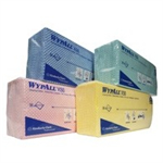 WypAll X50 CLEANING CLOTHS 50SHTS RED
