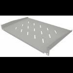 "Intellinet 19"" Cantilever Shelf, 1U, Shelf Depth 300mm, Vented, Grey 714990"