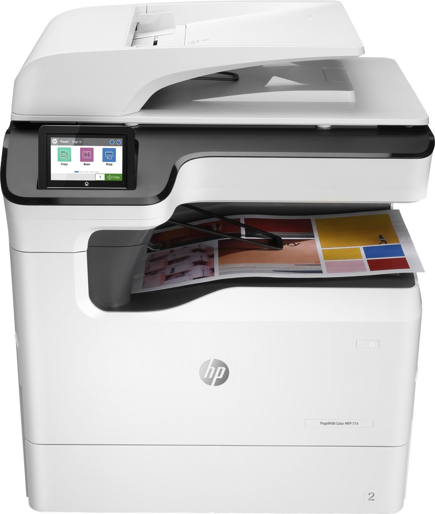 HP PageWide Color 774dn Inyección de tinta 2400 x 1200 DPI 35 ppm A3
