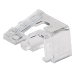 Intellinet RJ45 Repair Clip, For RJ45 modular plug, Transparent, 50 pack