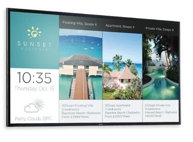 Sony FW-65X8570C public display