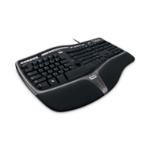 Microsoft Natural Ergonomic Keyboard 4000 Nordic USB QWERTY Black