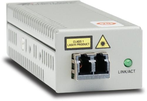 Allied Telesis AT-DMC1000/LC network media converter 1000 Mbit/s 850 nm Multi-mode Grey