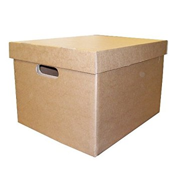 Smartbox LSM Archive/Storage Box & Lid 405x337x285mm Brown PK10