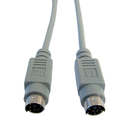 Cables Direct EX-107 5m Grey PS/2 cable
