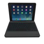 ZAGG Rugged Book Bluetooth AZERTY Zwart toetsenbord voor mobiel apparaat