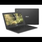 """ASUS Chromebook C204MA-GJ0370 notebook 29.5 cm (11.6"""") HD Intel® Celeron® N 4 GB LPDDR4-SDRAM 32 GB eMMC Wi-Fi 5 (802.11ac) Chrome OS Grey"""