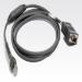 Zebra RS232 Cable cable de señal 2,1 m Gris