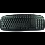 Perfect Choice EL-993384 USB QWERTY Negro teclado dir