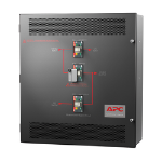 Maintenance Bypass Panel 10-15kVA 208V Wallmount