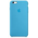 Apple iPhone 6s Plus Silicone Case - Blue