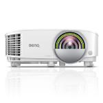 Benq EW800ST data projector 3300 ANSI lumens DLP WXGA (1280x800) Desktop projector White 9H.JLX77.14E