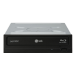 LG CH12NS40 optical disc drive Internal Black Blu-Ray DVD Combo