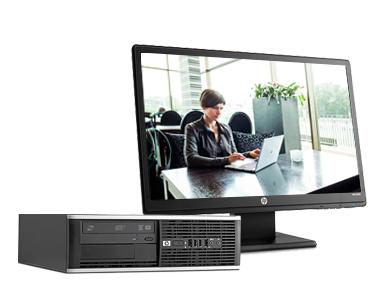 HP Compaq Pro 6300 SFF LX847ET#ABU Core i3-3220 4GB 500GB DVDRW Win 8/7 Pro  LX847ET#ABY