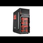 Sharkoon VG5-W Desktop Black computer case
