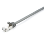 V7 CAT6 Ethernet Shielded STP 03M Gray networking cable