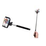 Denver SBT-10BLACK selfie stick Smartphone Black,Stainless steel