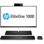 "HP EliteOne 1000 G1 68.6 cm (27"") 3840 x 2160 pixels 7th gen Intel® Core™ i5 8 GB DDR4-SDRAM 256 GB SSD Black,Silver All-in-One PC"