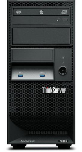 Lenovo ThinkServer TS150 server 3.3 GHz Intel® Xeon® E3 Family E3-1225V6 Tower (4U) 250 W